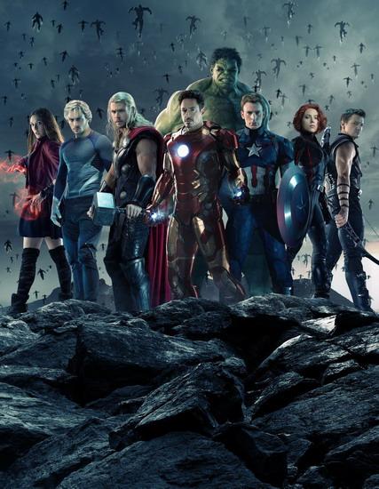 """Biệt đội siêu anh hùng đông đảo của """"Avengers: Age of Ultron""""."""