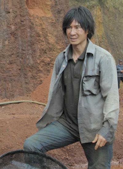 Tạo hình của nhân vật Khải do Lý Hải thể hiện trong phim.