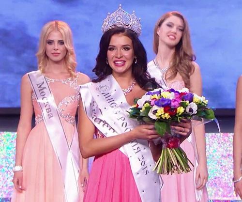 Sinh viên Nghệ thuật lên ngôi Hoa hậu Nga 2015
