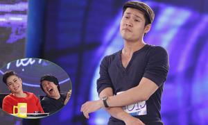 'Thí sinh tăng động' khiến giám khảo Vietnam Idol cười ngất