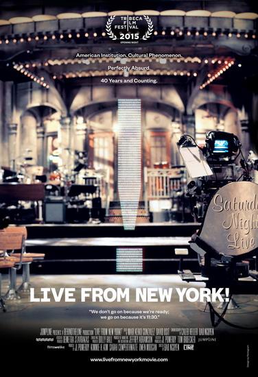 """""""Live from New York!"""" là phim tài liệu của đạo diễn gốc Việt - Bảo Nguyễn - được chọn chiếu mở màn ở LHP Tribeca 2015."""