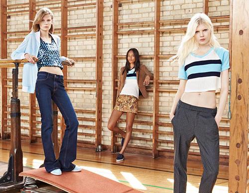 Zara được coi là thương hiệu thời trang bình dân tạo nên hiện tượng trong năm 2014 với mức tăng trưởng vượt trội. Ảnh: Zara.