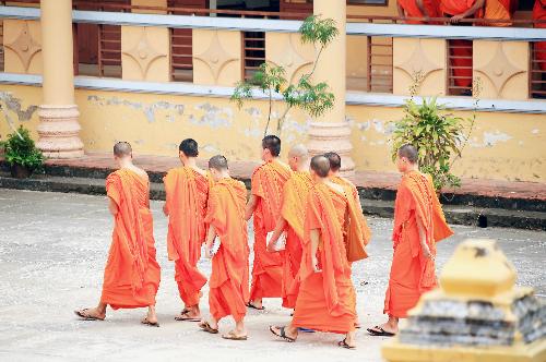 Đời thường của những chú tiểu học tu ở chùa