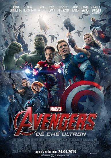 Avengers: Age of Ultron và sức hút từ các siêu anh hùng