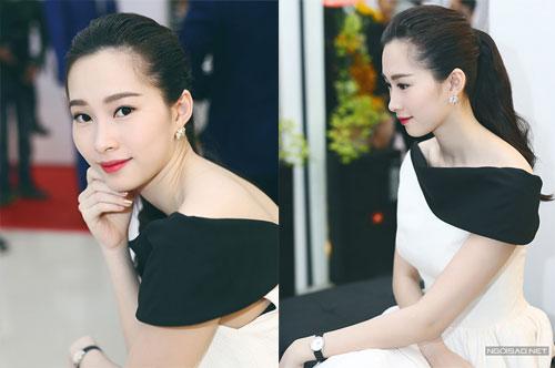 Hoa hậu Thu Thảo đẹp nhất tuần với bốn kiểu tóc khác nhau