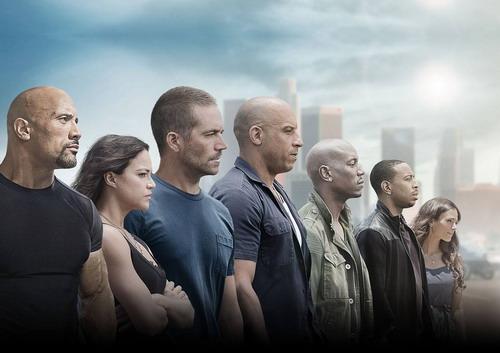 'Fast & Furious 7' vào Top 5 phim ăn khách nhất mọi thời đại