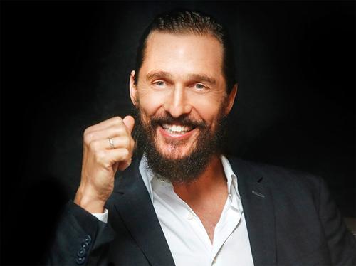 Nam diễn viên Matthew McConaughey. Ảnh: HauteLiving.