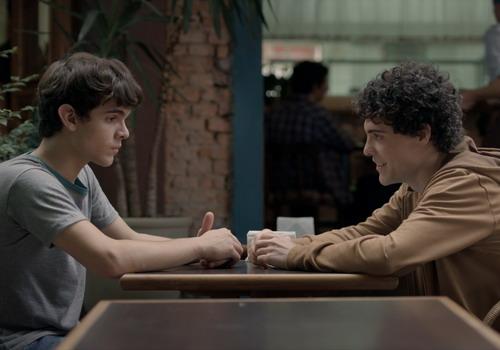 Hai nhân vật chính - Leo (trái) và Gabriel.