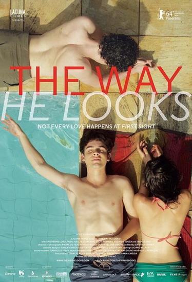 """Poster phiên bản quốc tế của """"The Way He Looks""""."""