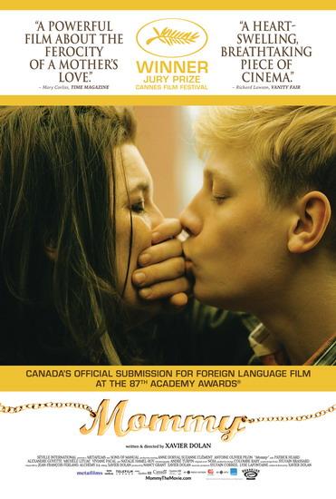 """""""Mommy"""" là một trong những bộ phim của điện ảnh thế giới được nhắc tới nhiều nhất trong năm qua."""