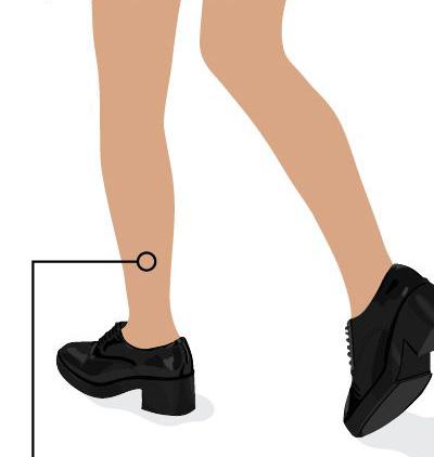 2. Chân thon dài Đôi chân thon dài thường được khen là ưu điểm của phái nữ, dù nó khẳng khiu và liền mạch từ trên xuống dưới, không thể hiện rõ đường nét cơ vùng chân. Đây cũng là kiểu chân dễ mặc quần ống lửng cao thấp tùy thích.