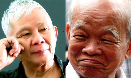 Nhà văn Nguyên Ngọc (phải) và nhà văn Nguyễn Quang Thân là hai Hội viên lâu năm của Hội Nhà văn Việt Nam trước khi rời bỏ tổ chức này.