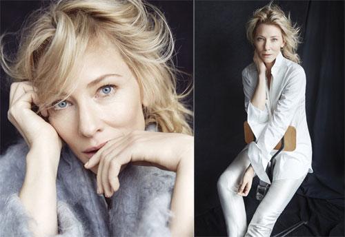 Cate Blanchett trên Variety.