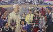 Triển lãm tranh vẽ Hồ Chí Minh ở Nghệ An