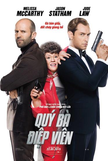 "Poster phim ""Spy""."