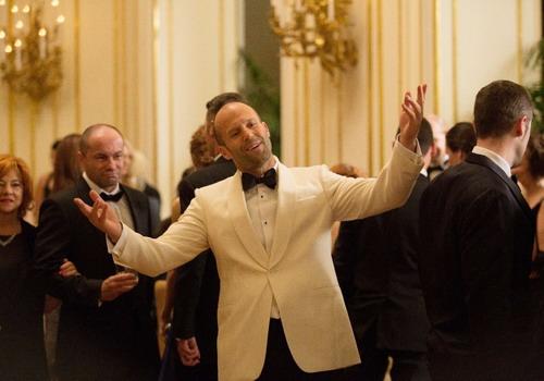 "Jason Statham trong một cảnh phim ""Spy""."
