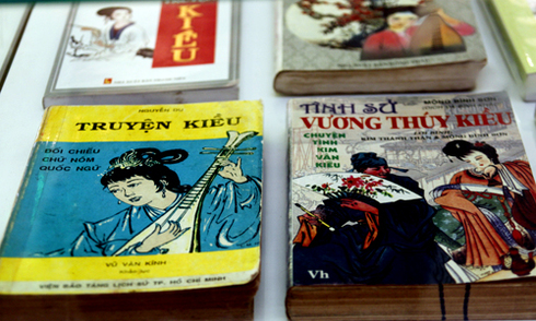 Triển lãm gọi 'Truyện Kiều' của Nguyễn Du là 'thơ chữ Hán'