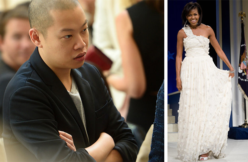 Hes the man behind Michelle Obamas inauguration dresses, along with countless other celebs including Reese Witherspoon and Julianne Moore. Ninety percent of his collection is produced in New York Citys Garment District.  Fun Fact: His father gifted him a 1930s German sewing machine that he keeps in his NYC studio conference room.