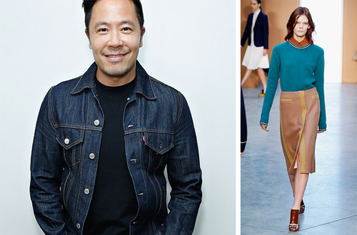 Derek Lam studied at Parsons School of Design in New York and then launched his first collection in 2003 with his partner, Jan-Hendrik Schlottmann.  Fun Fact: He says the Derek Lam girl would listen to Yo-Yo Ma on her iPod.
