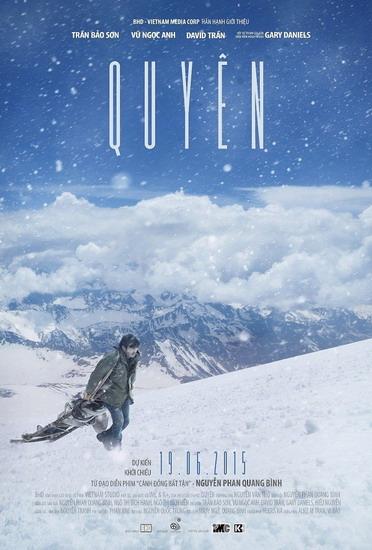 Phim 'Quyên' hé lộ hậu trường cảnh 'nóng' và tuyết rơi