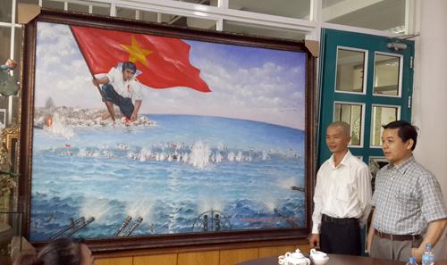 họa sĩ Bùi Lê Trang