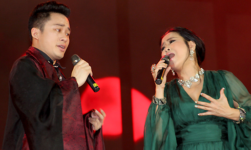Thanh Lam, Tùng Dương khuấy động 15.000 khán giả ở Huế