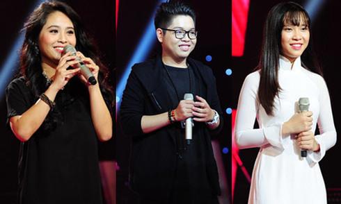 Những tiết mục gây ấn tượng ở vòng Giấu mặt The Voice 2015