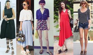 5 kiểu giày được yêu thích nhất hè 2015