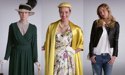 Sự biến đổi của thời trang trong 100 năm
