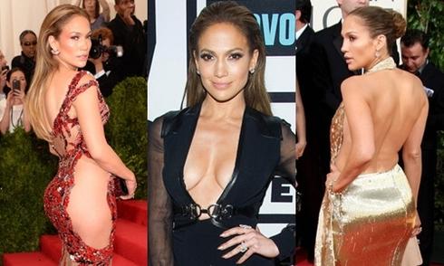Những bộ váy hở của Jennifer Lopez