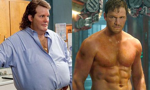 Chris Pratt 'tiến hóa' hình thể cùng vai diễn