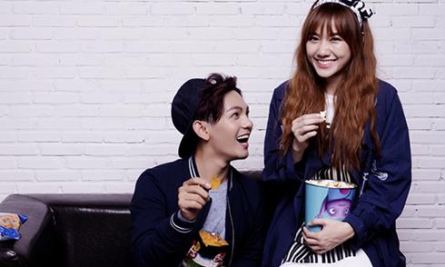 Sơn Ngọc Minh 'tỏ tình' với Hari Won trong ca khúc mới