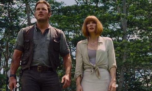 'Jurassic World' quay tại nơi thực hiện 'Jurassic Park'