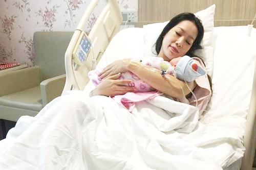 Trịnh Kim Chi sinh con gái thứ hai