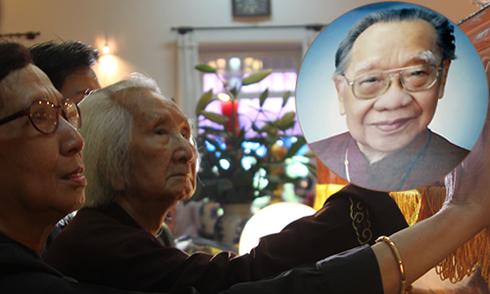 Nhạc sư 98 tuổi đến tiễn biệt Giáo sư Trần Văn Khê