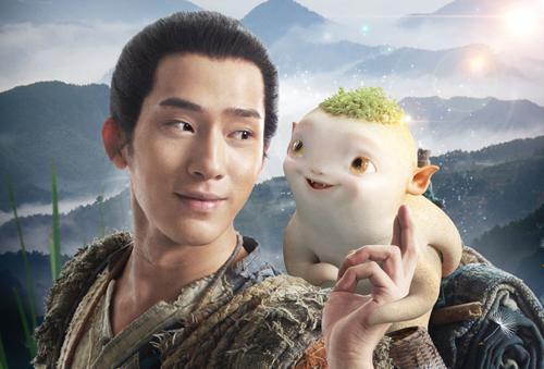 'Huynh đệ Hoàng Phi Hồng' mang thai yêu quái trong phim mới