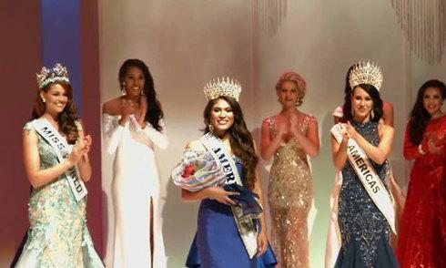 Người đẹp 19 tuổi đăng quang Hoa hậu Thế giới Mỹ 2015