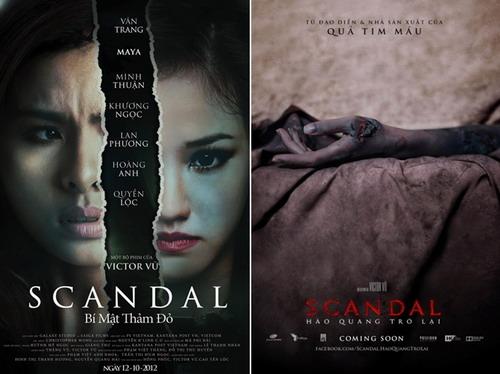 """Hai bộ phim của đạo diễn Victor Vũ - """"Scandal: Bí mật thảm đỏ"""" và """"Scandal: Hào quang trở lại"""" - nằm trong số sáu tác phẩm chiếu trong tuần lễ phim Việt Nam tại Mỹ."""