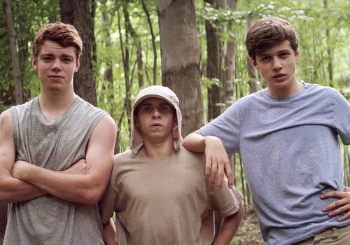 Ba nhân vật chính trong phim - Patrick, Biaggio và Joe.