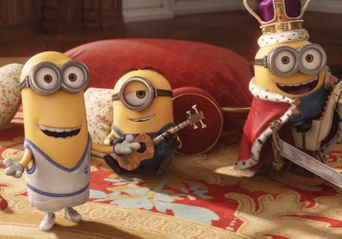 Ba Minion chính của phim là Kevin, Stuart và Bob.