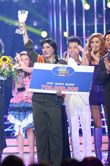 Kết quả đêm thi, Thanh Duy giành được ngôi vị Quán quân