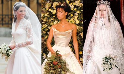 12 bộ váy cưới đắt nhất lịch sử