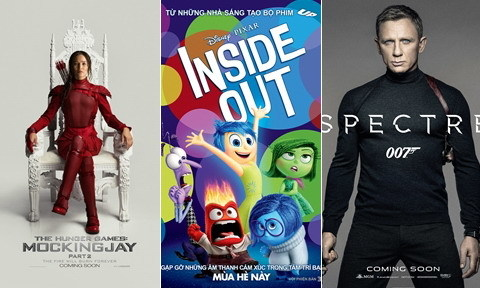 10 bộ phim được chờ đợi nhất nửa cuối năm 2015
