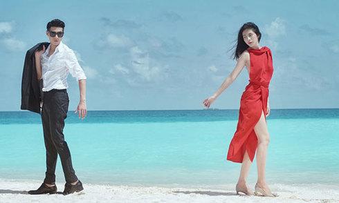 Thủy Tiên, Noo Phước Thịnh quay phim ca nhạc tại Maldives