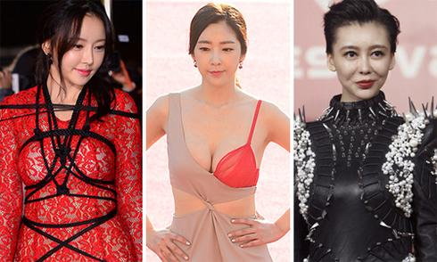 Trang phục gây tranh cãi của sao châu Á trên thảm đỏ