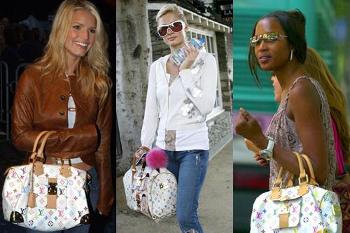 """Túi xách và phụ kiện in họa tiết monogram nhiều màu của Louis Vuitton sẽ bị """"khai tử"""" vào cuối năm nay. Ảnh: Vogue."""