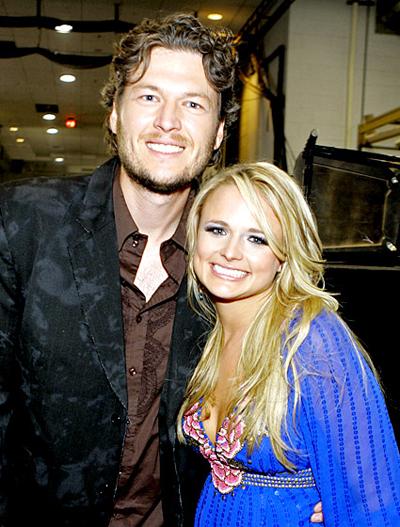Blake và người vợ đầu ly hôn năm 2006 giữa các thông tin cho rằng nam diễn viên cặp với Miranda Lambert. Nam ca sĩ được cho là đã chuyển từ Texas tới Oklahoma - quê nhà của Miranda - để gần gũi với cô hơn.