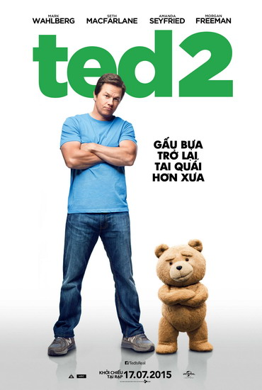 "Poster phim ""Ted 2""."