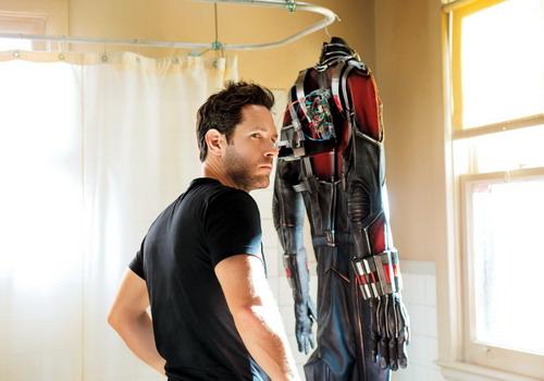 Tài tử Paul Rudd hóa thân thành siêu anh hùng mới của Marvel.