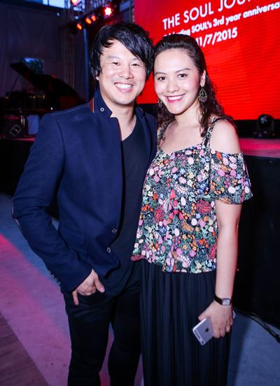Thanh Bùi và vợ rất ít khi xuất hiện cùng nhau trước công chúng.